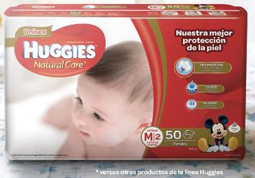 Pañales Huggies Natural Care M - Etapa 2