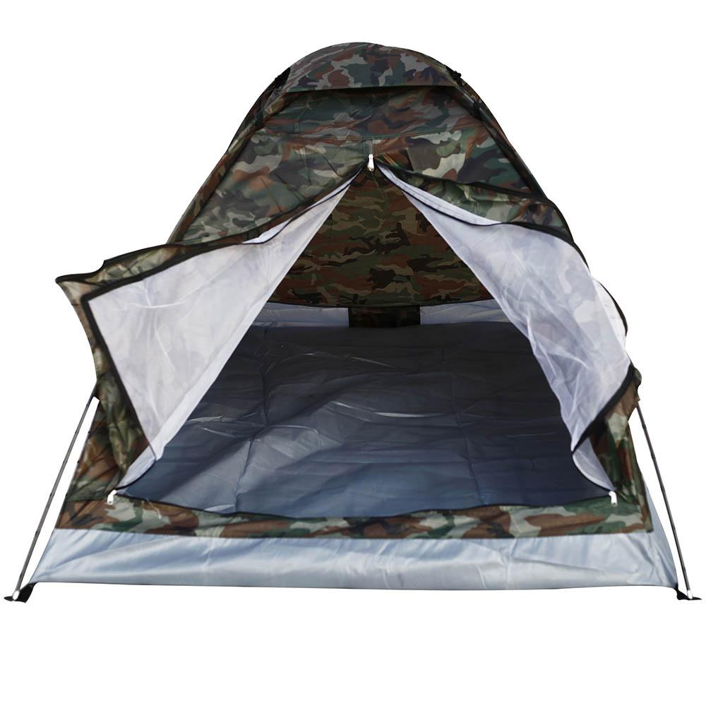 1 2KG TOMSHOO 2 Person Tent Ultralight Single Layer Water Resistance  Camping Tent PU1000mm with Carry Bag for Hiking Traveling
