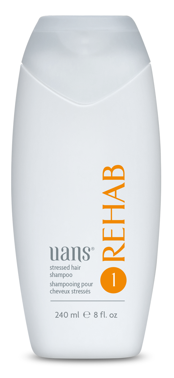 REHAB Stressed Hair Shampoo