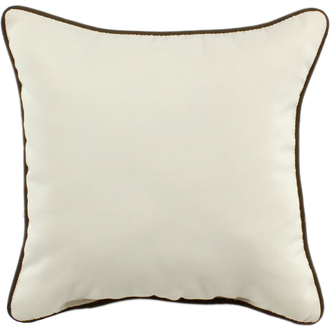 Beige Indoor / Outdoor Decorative Pillow