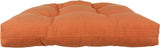 Tuscan Orange Canvas Indoor / Outdoor Seat Cushion Patio D Cushion
