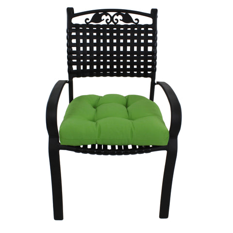 Celery Green Canvas Indoor / Outdoor Seat Cushion Patio D Cushion