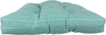 Lakeside Teal Marseille Indoor / Outdoor Seat Cushion Patio D Cushion