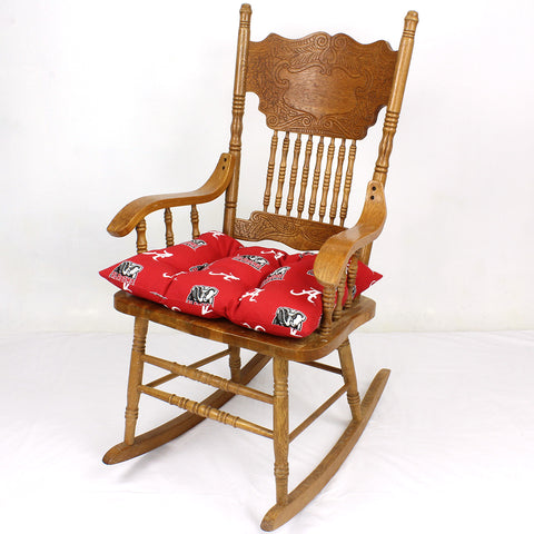 Alabama Crimson Tide Rocker Pad - Chair Cushion