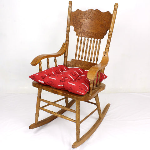 Arkansas Razorbacks Rocker Pad - Chair Cushion