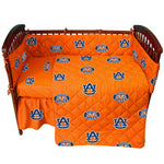 Auburn Tigers 5 piece Baby Crib Set