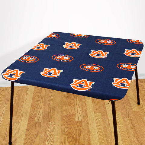 Auburn Tigers Fitted Table Cover / Tablecloth:  3 Sizes Available