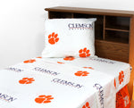 Clemson Tigers Sheet Set