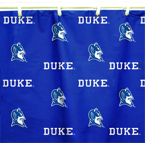 Duke Blue Devils Shower Curtain Cover