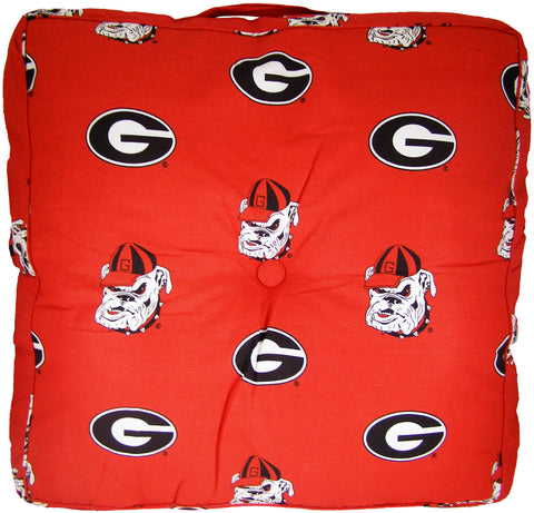 Georgia Bulldogs Floor Pillow