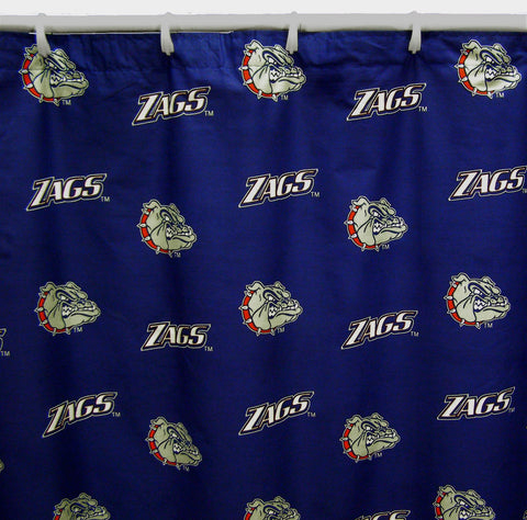 Gonzaga Bulldogs Shower Curtain Cover