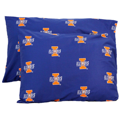 Illinois Fighting Illini Pillowcase