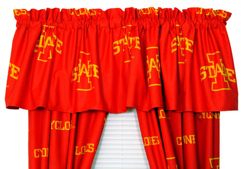 Iowa State Cyclones Curtain Valance