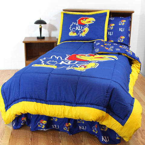 Kansas Jayhawks Bed in a Bag