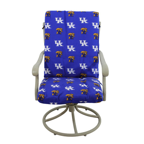 Kentucky Wildcats Two Piece Chair Cushion