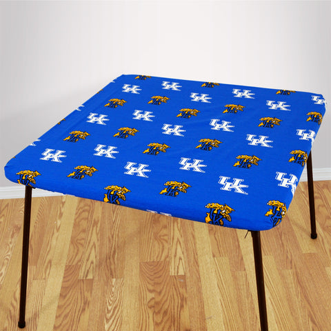 Kentucky Wildcats Fitted Table Cover / Tablecloth:  3 Sizes Available