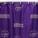 Kansas State Wildcats Shower Curtain Cover