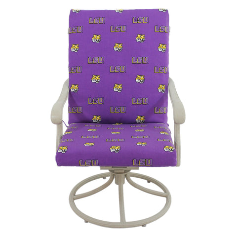 Louisiana State Tigers Two Piece Chair Cushion