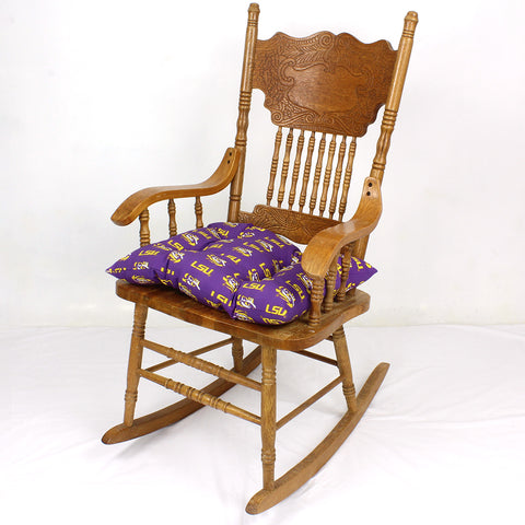LSU Tigers Rocker Pad - Chair Cushion
