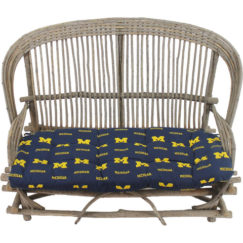 Michigan Wolverines Settee Cushion