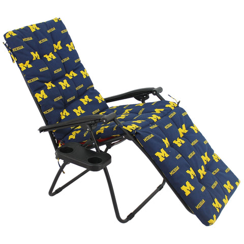 Michigan Wolverines Zero Gravity Chair Cushion