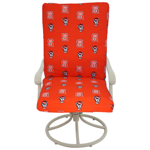 North Carolina State Wolfpack Two Piece Chair Cushion