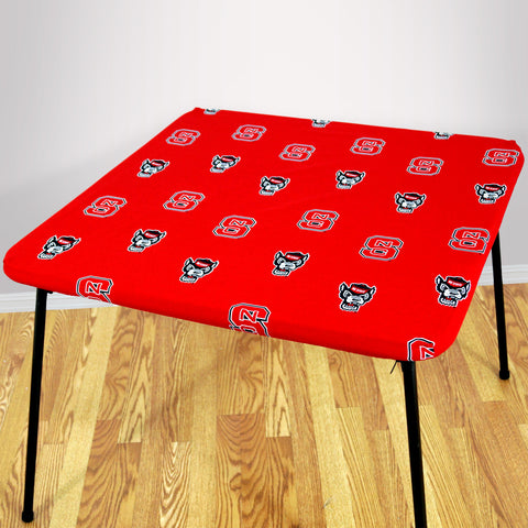 North Carolina State Wolfpack Fitted Table Cover / Tablecloth:  3 Sizes Available