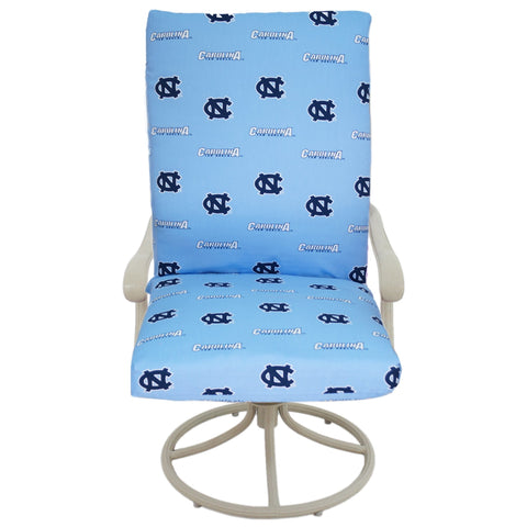 North Carolina Tar Heels Two Piece Chair Cushion