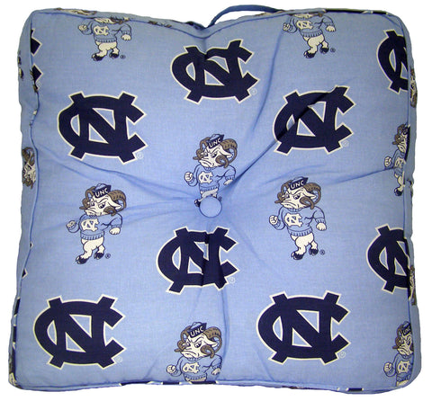 North Carolina Tar Heels Floor Pillow