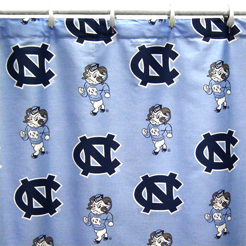 North Carolina Tar Heels Shower Curtain Cover
