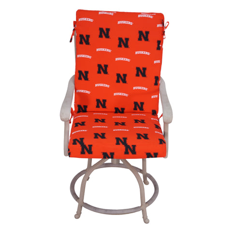 Nebraska Huskers Two Piece Chair Cushion