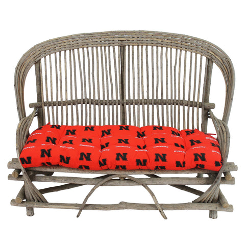 Nebraska Huskers Settee Cushion