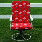 Ohio State Buckeyes Two Piece Chair Cushion