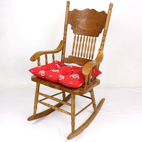 Ohio State Buckeyes Rocker Pad - Chair Cushion