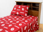 Oklahoma Sooners Sheet Set