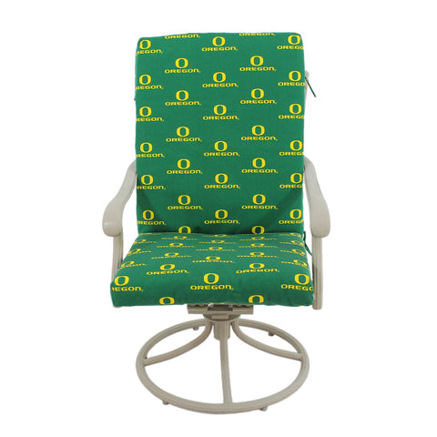 Oregon Ducks Two Piece Chair Cushion