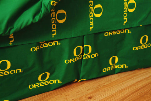 Oregon Ducks Dust Ruffle