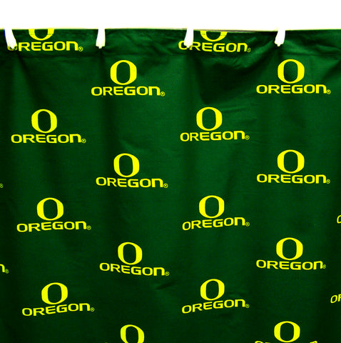 Oregon Ducks Shower Curtain Cover