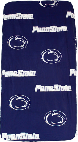 Penn State Nittany Lions Baby Crib Fitted Sheet
