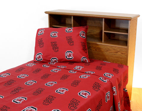South Carolina Gamecocks Sheet Set
