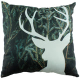 Deer Silhouette Double Sided Pillow - 2 Styles