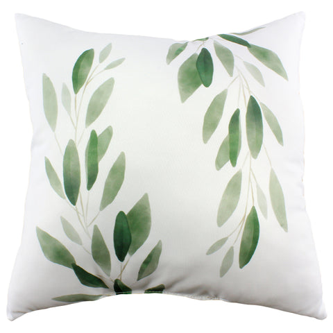 Simple Greenery Double Sided Pillow