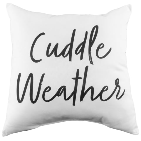 Cuddle Weather Reversible Pillow