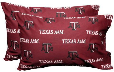 Texas A&M Aggies Pillowcases