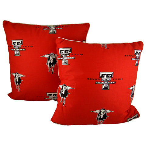 Texas Tech Red Raiders Decorative Pillow Pair