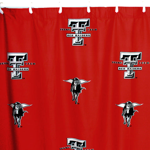 Texas Tech Red Raiders Shower Curtain Cover