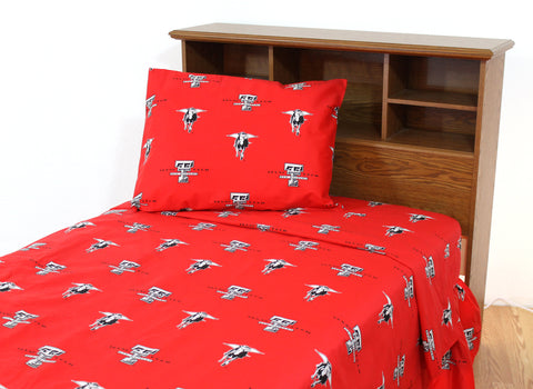 Texas Tech Red Raiders Sheet Set