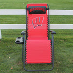 Wisconsin Badgers Zero Gravity Chair