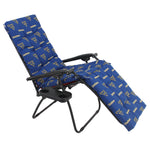 West Virginia Mountaineers Zero Gravity Chair Cushion