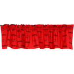 Arkansas Razorbacks Curtain Valance